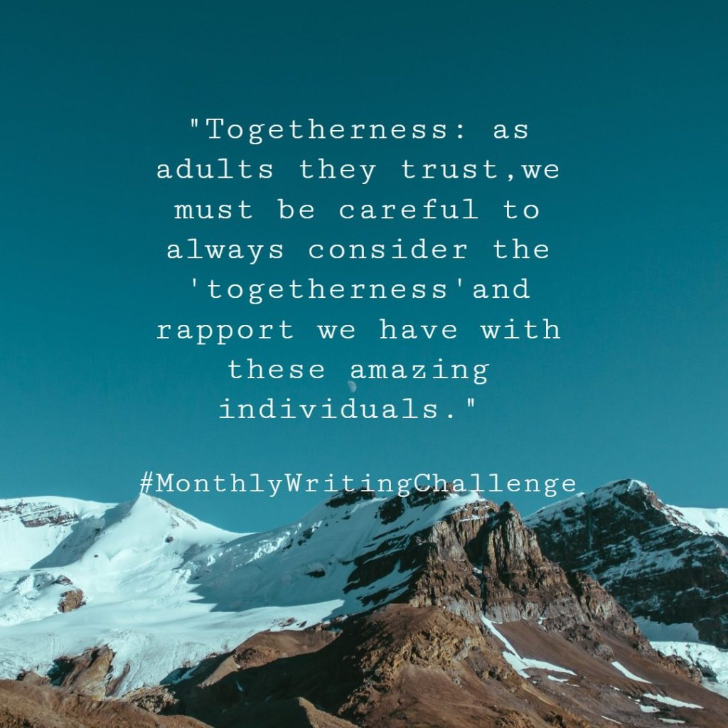 Togetherness quote